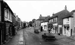 Old photograph of the high street
